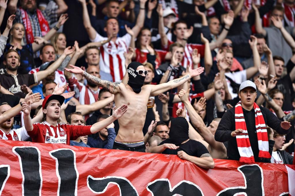 NRGI Arena Aarhus AGF tager imod AaB i Alka Superligaen Foto Claus Søndberg
